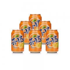 芬达橙味六连装