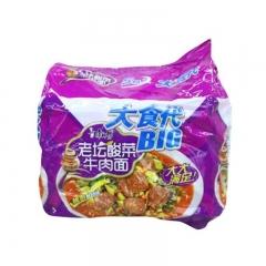 康师傅大食袋酸菜五连包