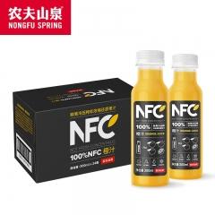 农夫山泉NPC橙子300ml一箱24瓶