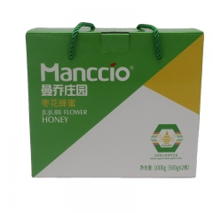 曼乔庄园枣花蜂蜜1000g