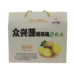 众兴源超低矾手工粉(韭叶粉)礼盒2000g