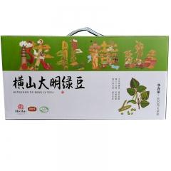 陕北横山大明绿豆3.2kg礼盒
