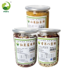 佳州缘青羽鸟杂粮粥组合红豆薏米粥500g、小米红枣粥500g、营养八宝粥500g