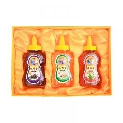 纯蜂堂蜂蜜礼盒(洋槐、桑椹、酸枣)500g*3