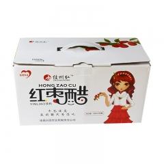 佳县兴民枣业红枣醋饮料500ml*8瓶
