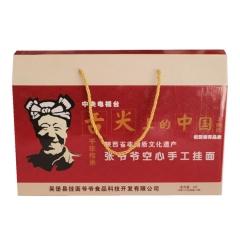 张爷爷空心手工挂面礼盒4斤(200gX10把)